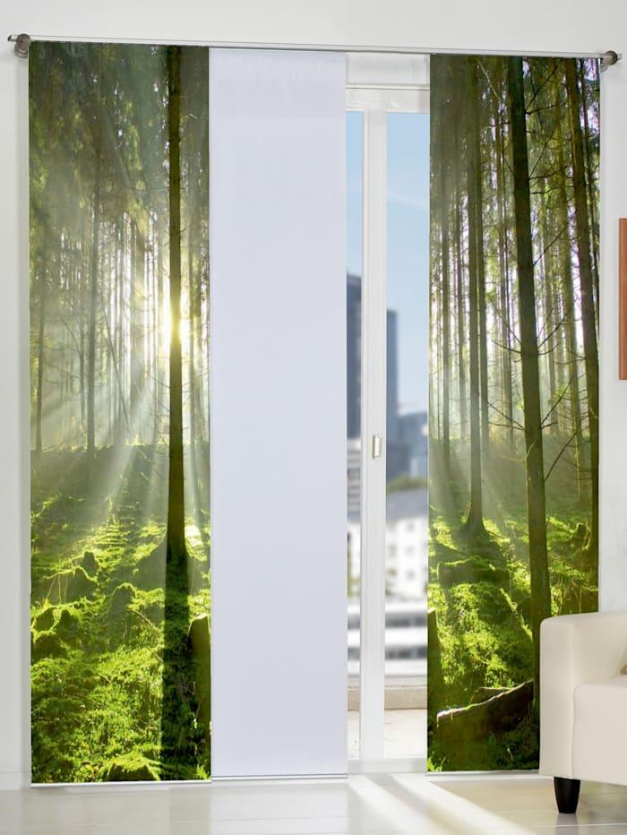 Home Wohnideen Siergordijn Stockholm, groen