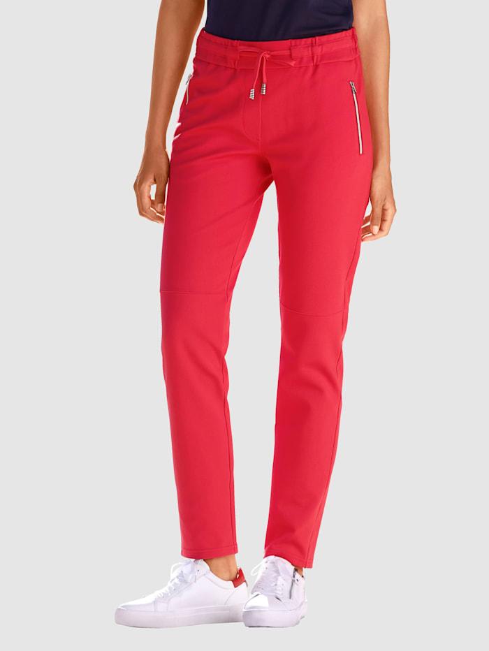 Laura Kent Pantalon en 2 coloris, Rouge