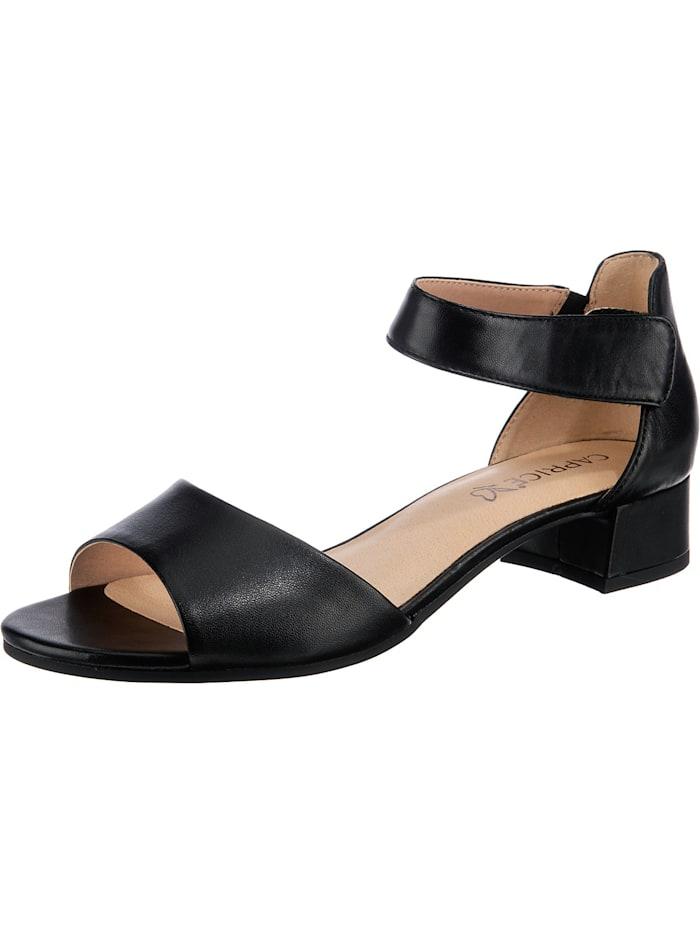 Caprice Klassische Sandaletten, schwarz