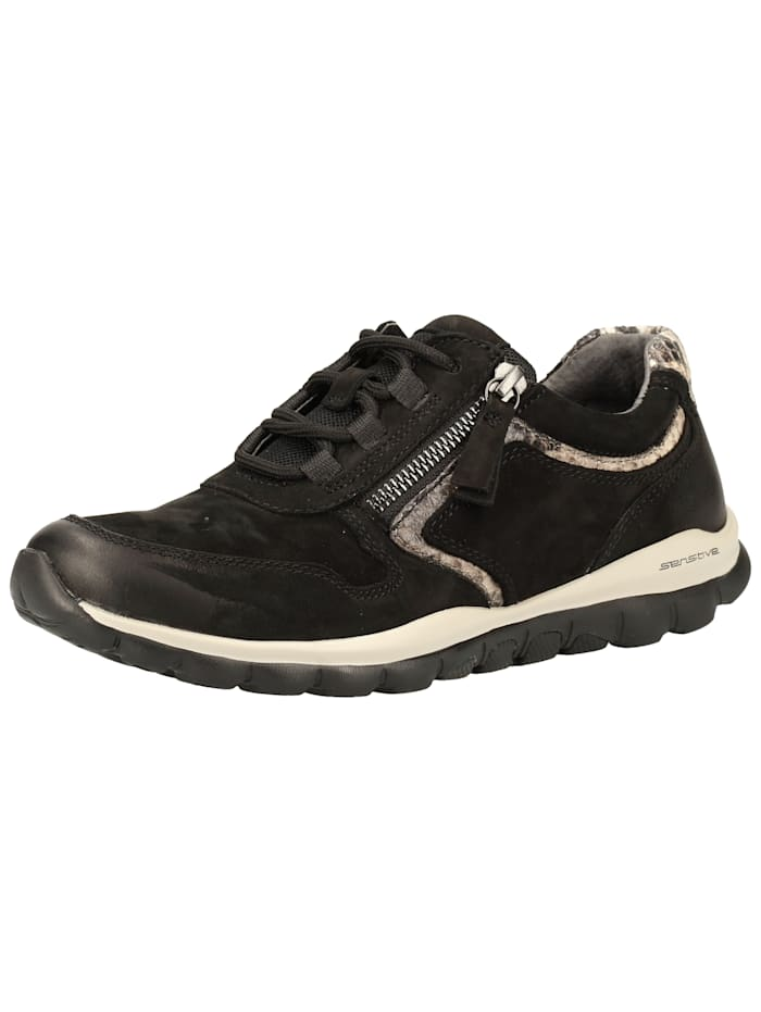 Gabor Gabor Sneaker, Schwarz/Grau