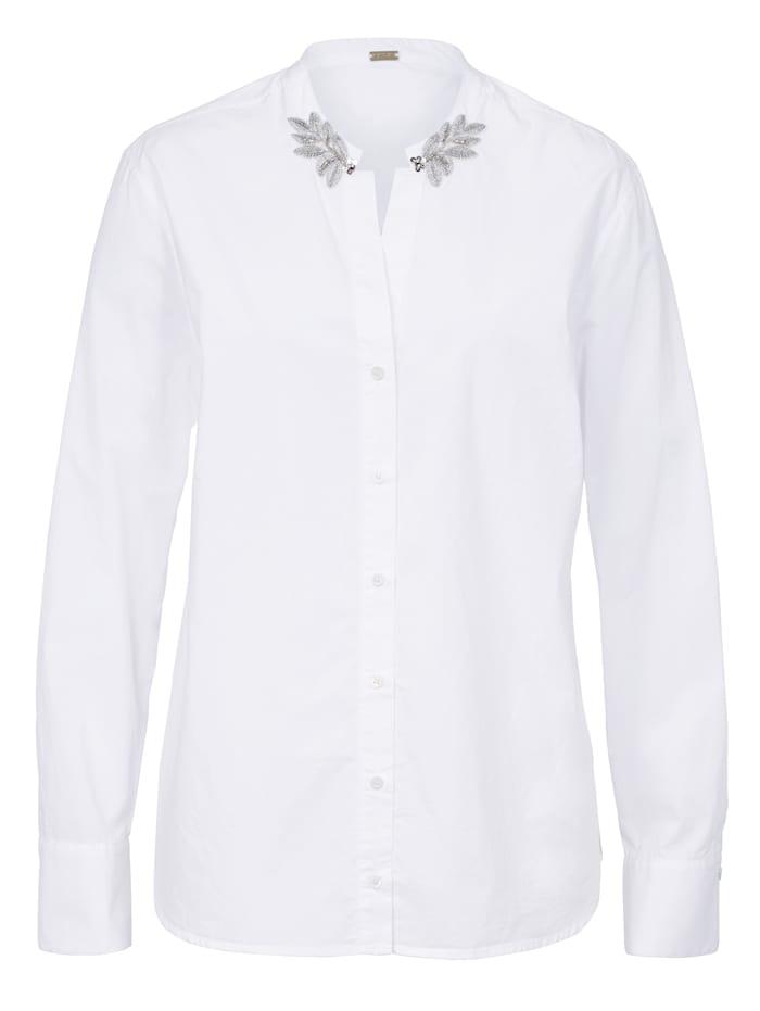 GUSTAV Bluse, Weiß
