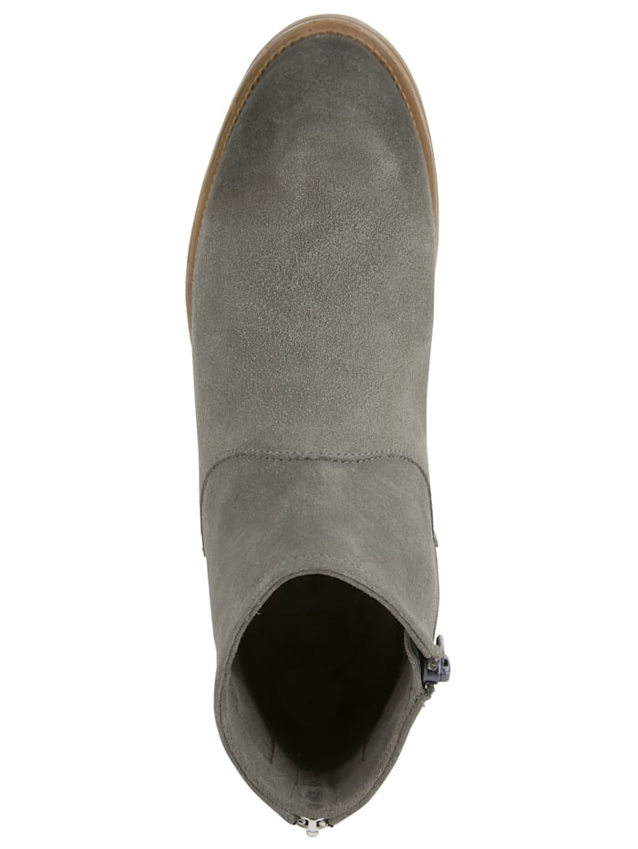 ankle boot made of high-end velour leather