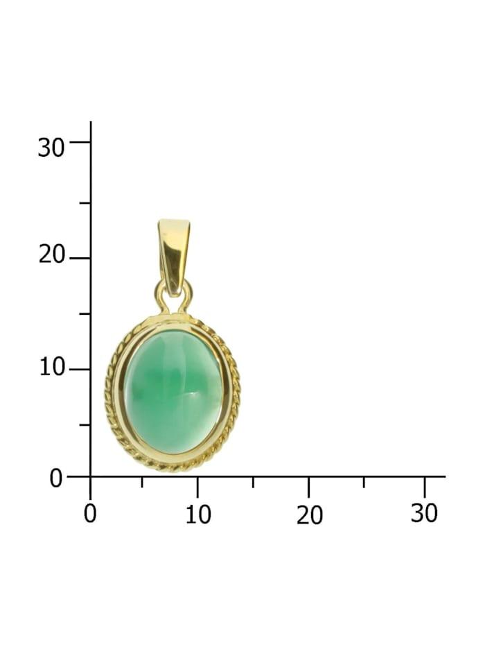 Anhänger Jolin Gold 333/000 Jade