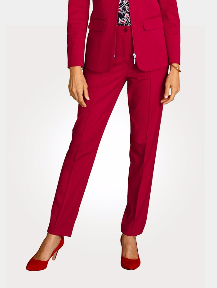MONA Hose in Bi-Elastischer Qualität, Rot