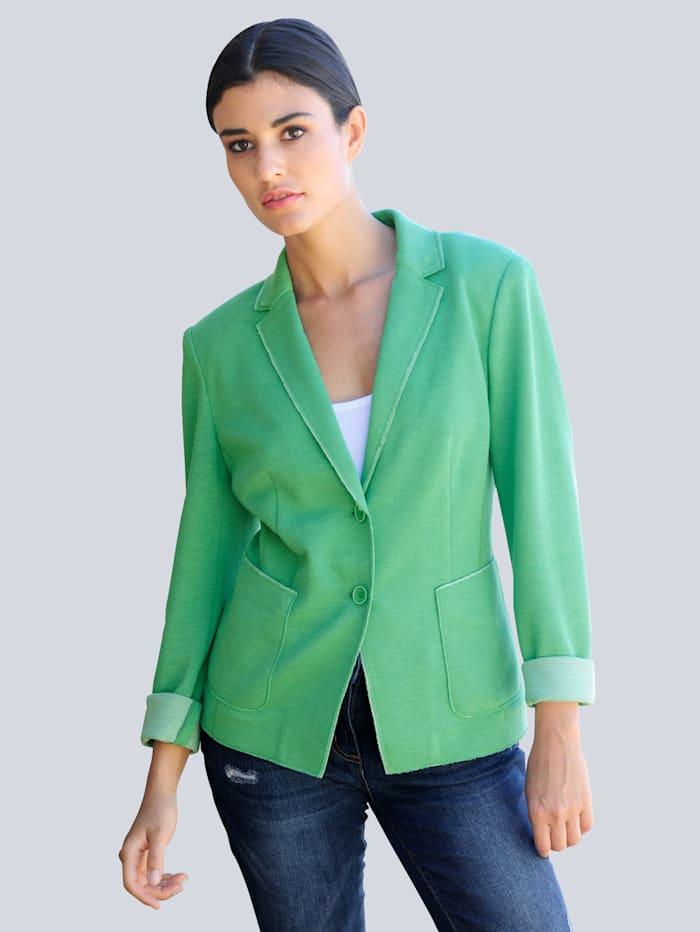 Alba Moda Blazer mit aufwändiger Verarbeitung, Grün