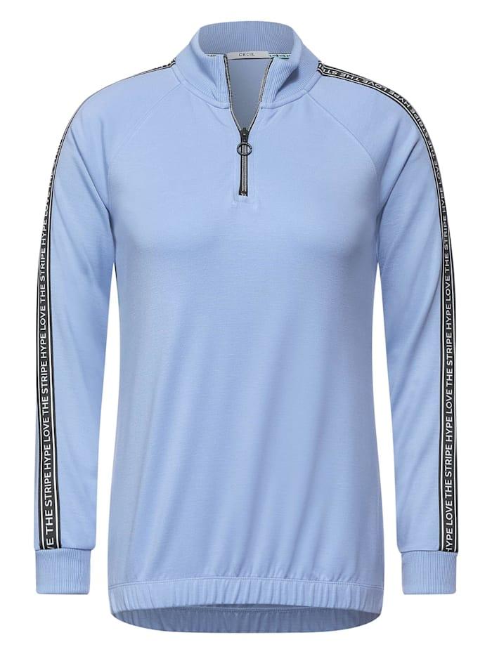 Cecil Sportives T-Shirt, quiet blue