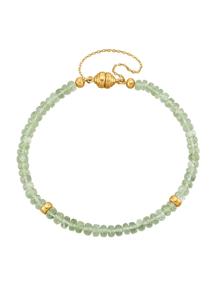 Diemer Farbstein Armband met tsavoriet, Groen