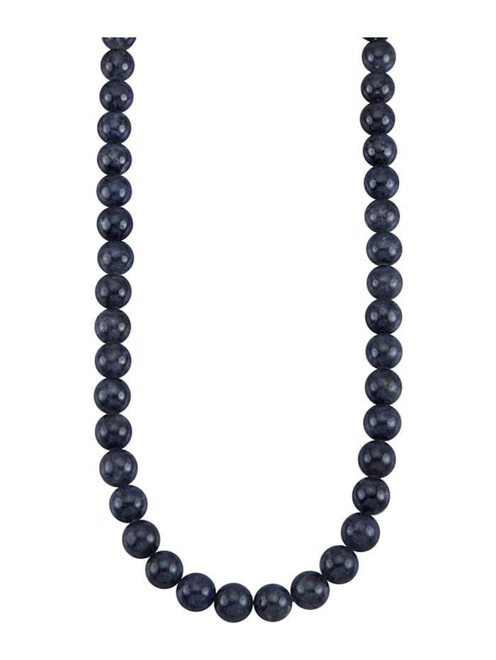 Diemer Farbstein Saphir-Kette mit Saphiren, Blau