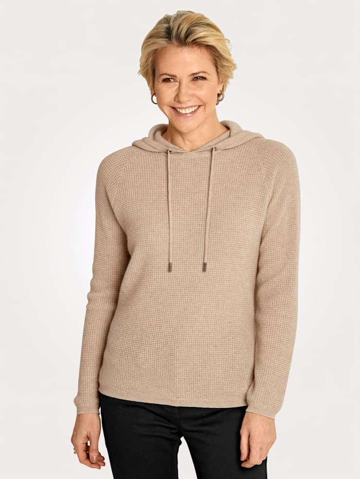 MONA Pull-over en pur cachemire, Sable
