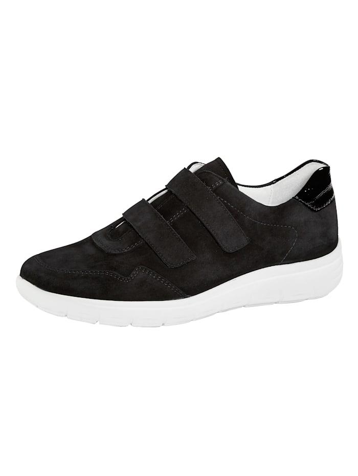 Vamos Slipper obuv, Černá