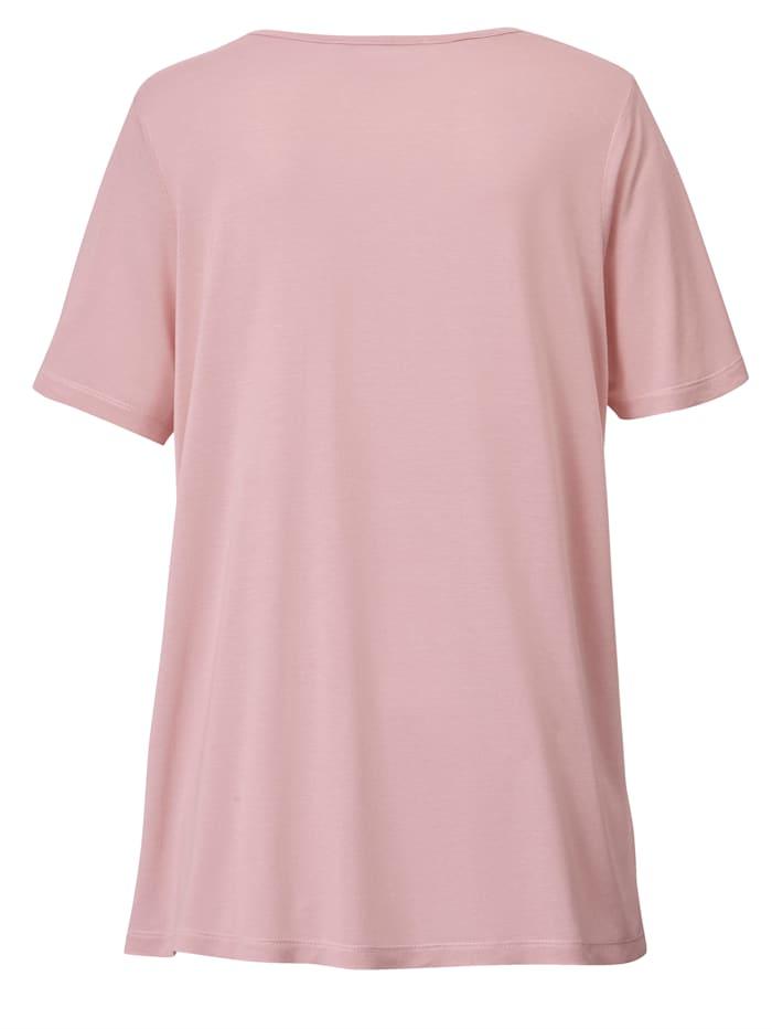Shirt van zuivere viscose