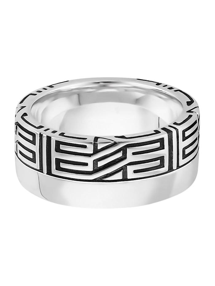 CAI Ring 925/- Sterling Silber Glänzend 925/- Sterling Silber, weiß