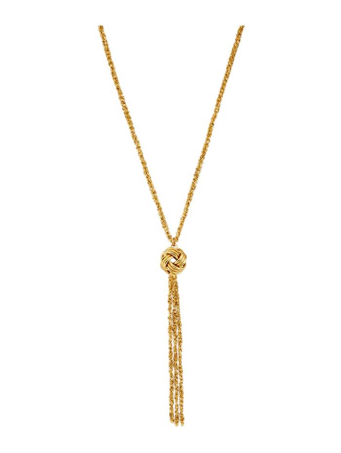 Diemer Highlights Collier in Silber 925, vergoldet, Gelbgoldfarben