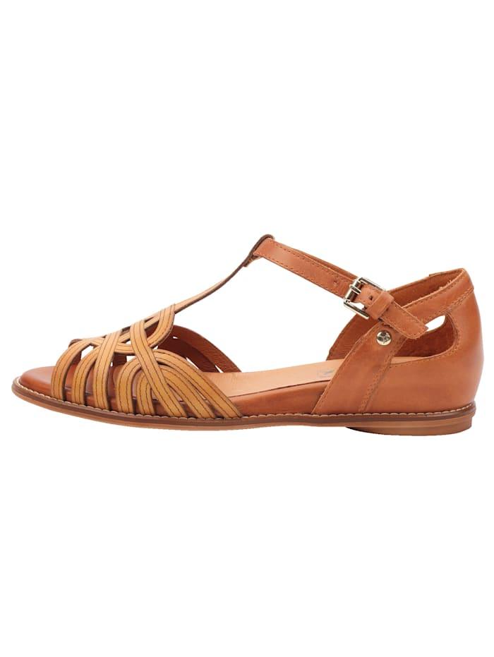 Sandale mit variabel, verstellbarem T-Ristriemchen
