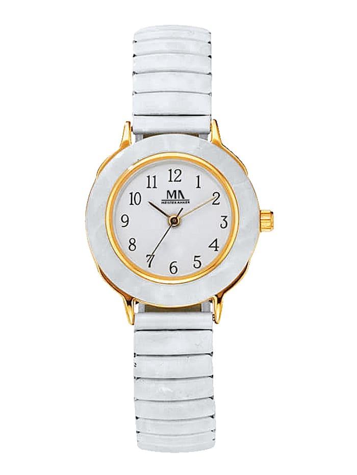 Meister Anker Women's quartz watch, White