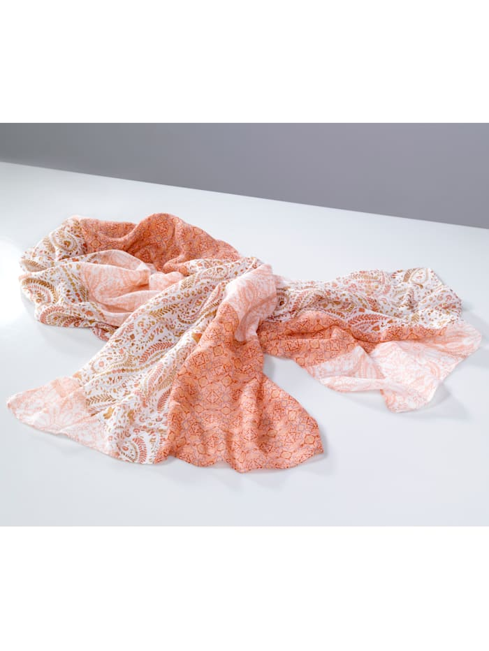 Foulard Éléments fantaisie scintillants, Rose