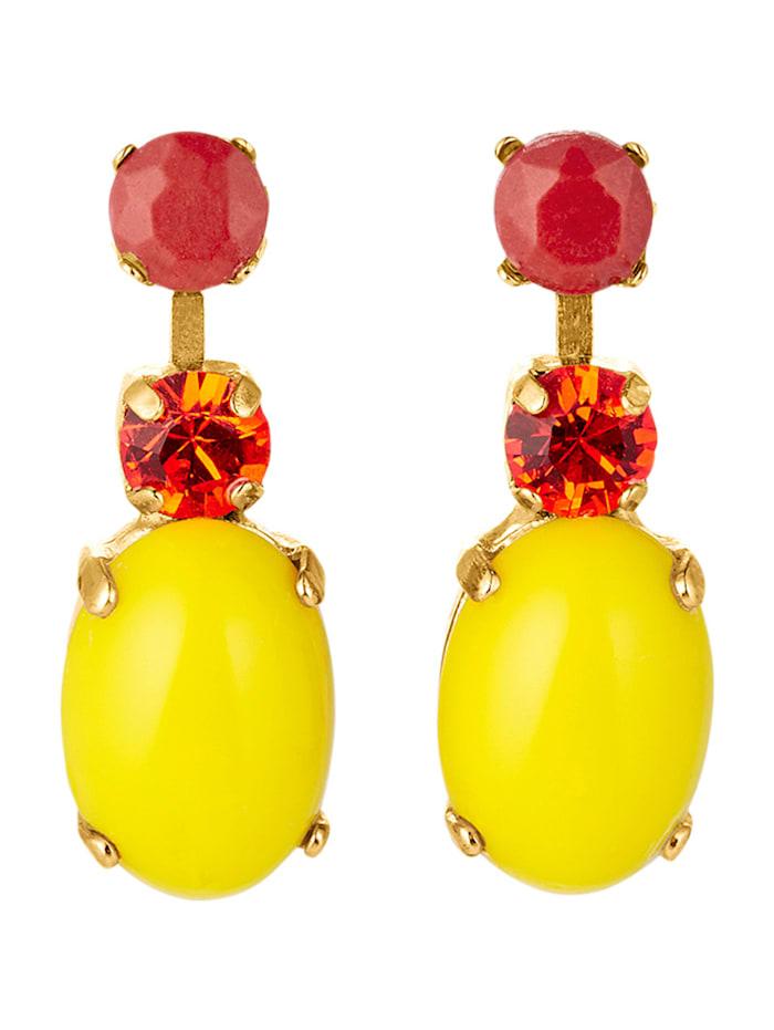 Amaro Ohrringe, Gelbgoldfarben