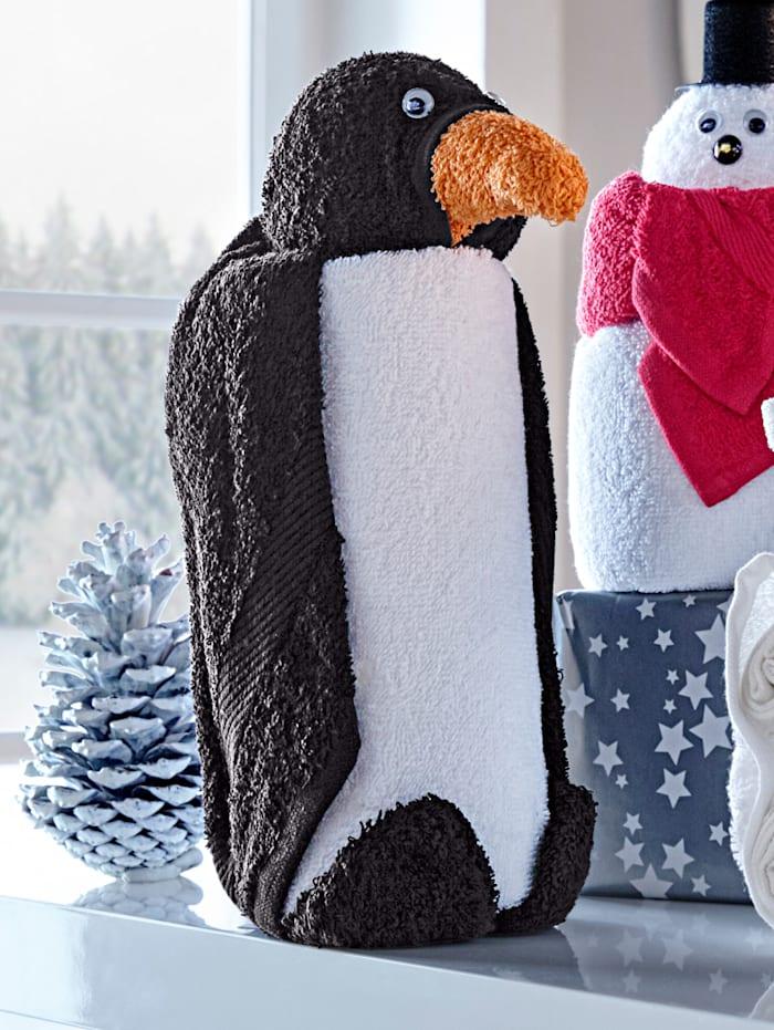 Kleinmann Gavesettt -Pingvin-, svart/hvit