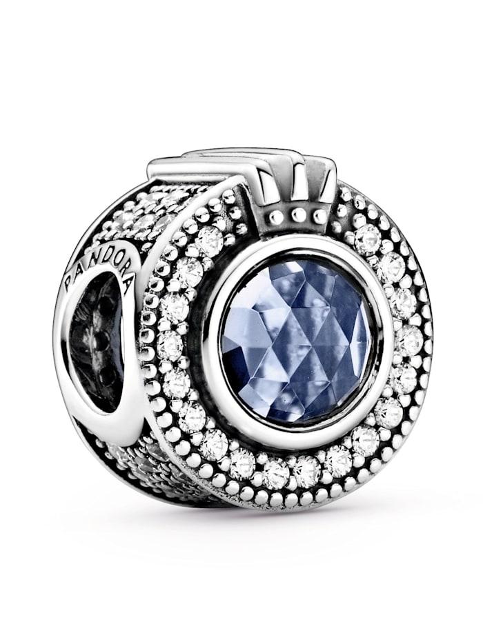 Pandora Charm - funkelnde Krone-, Silberfarben