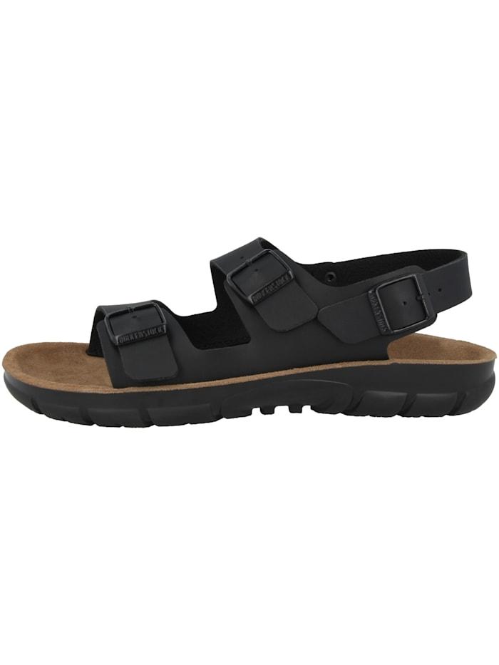 Birkenstock Sandale Kano Birko-Flor Weichbettung schmal, schwarz