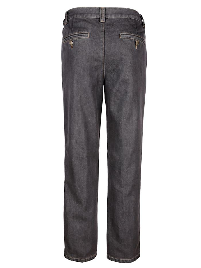Termo džínsy s hrejivou termo podšívkou