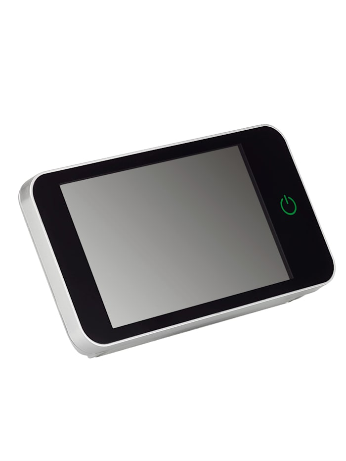 Maximex Digitale deurspion, Zwart/Zilverkleur