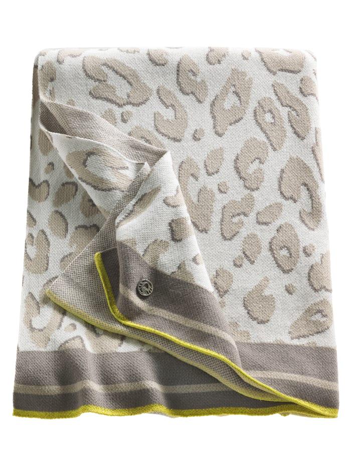 SPORTALM Strick-Decke, beige