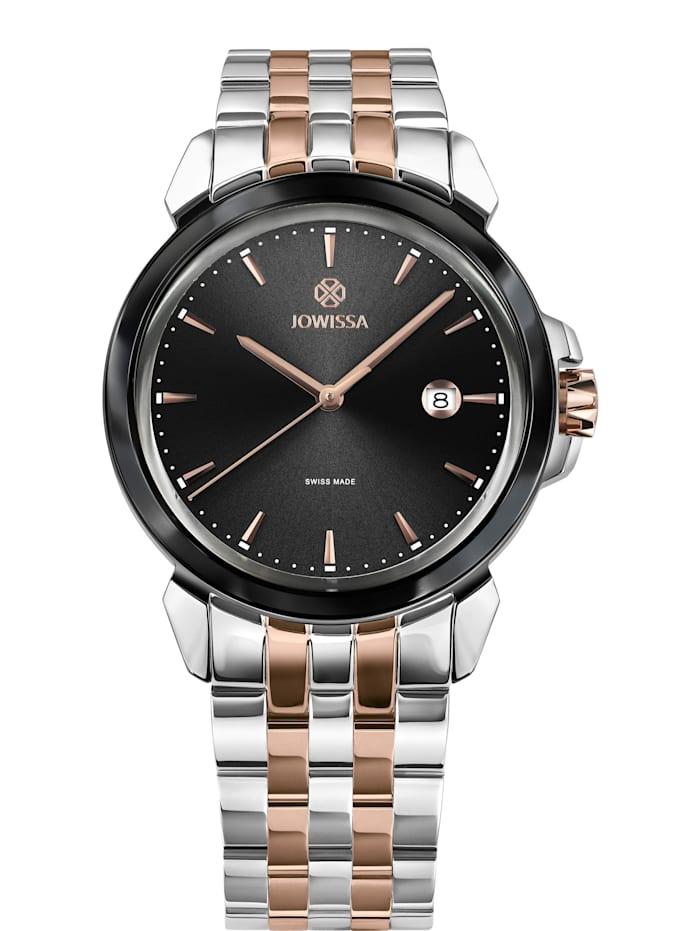 Jowissa Quarzuhr LeWy 3 Swiss Men's Watch, rosa schwarz