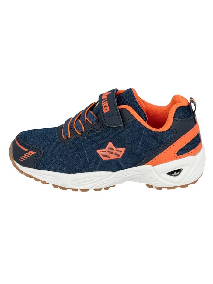Lico Sportschuh, marine/orange