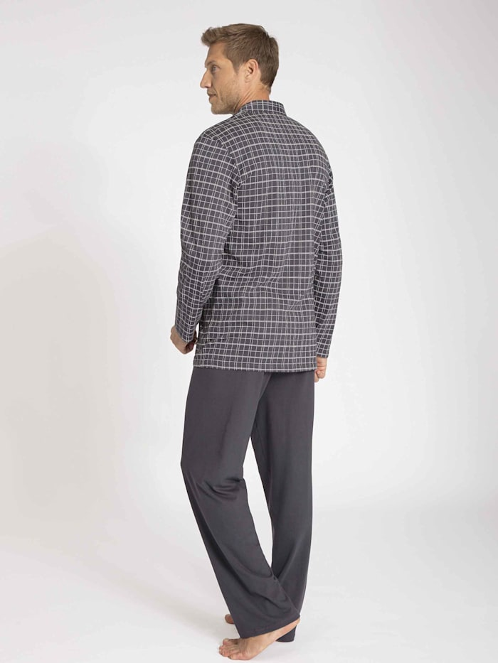 Pyjama, durchgeknöpft Ökotex zertifiziert