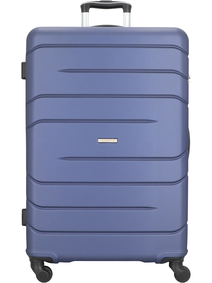 NOWI Milano 5.0 4-Rollen Trolley 75 cm, blau