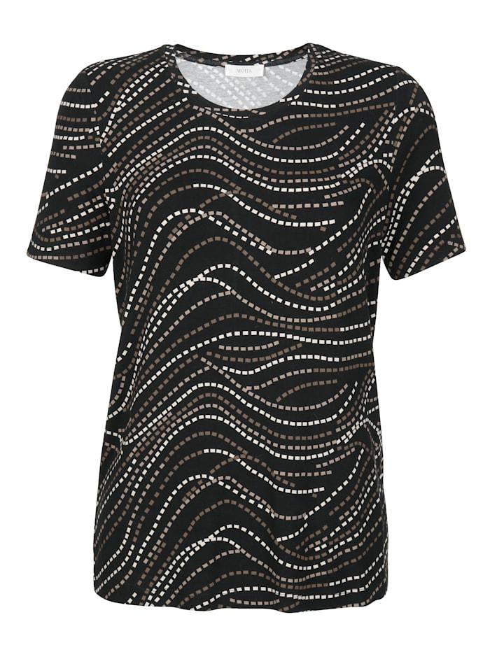 Shirt met grafisch patroon