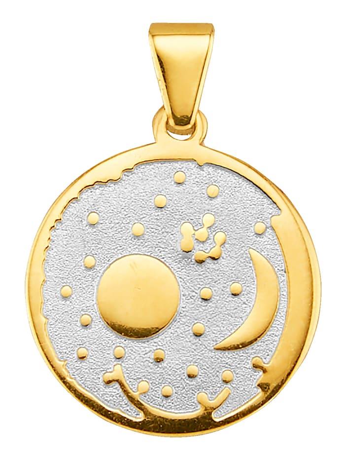 Diemer Gold Anhänger in Gelbgold, Gelbgoldfarben