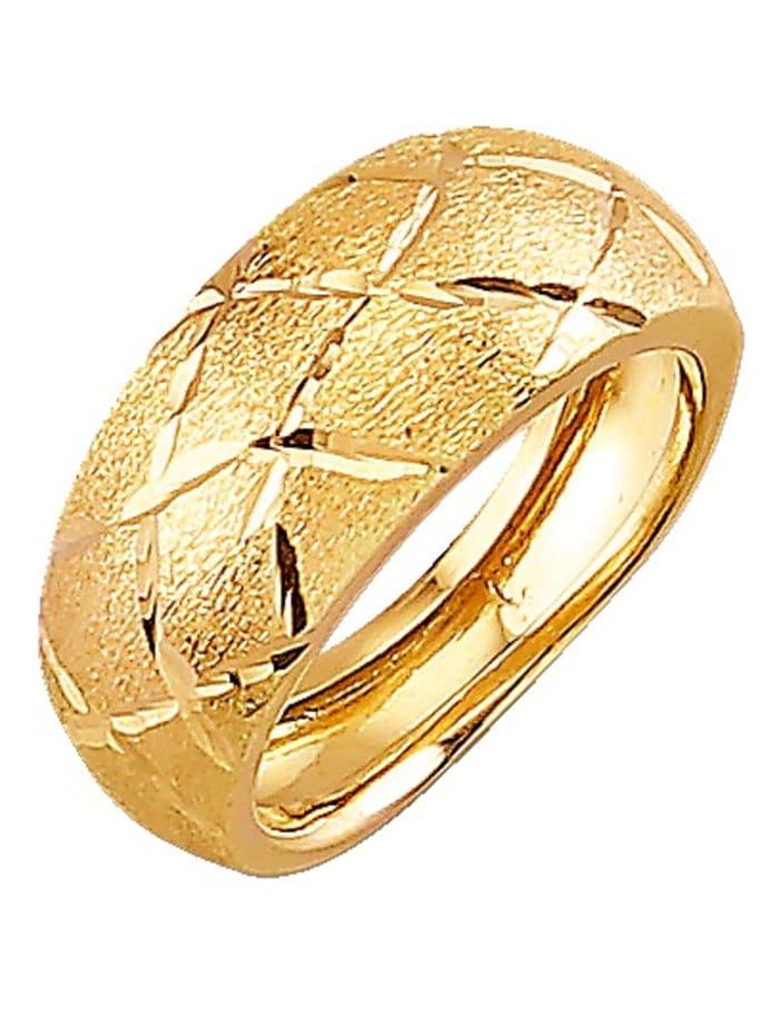 Diemer Highlights Damenring in Gelbgold 585, Gelb