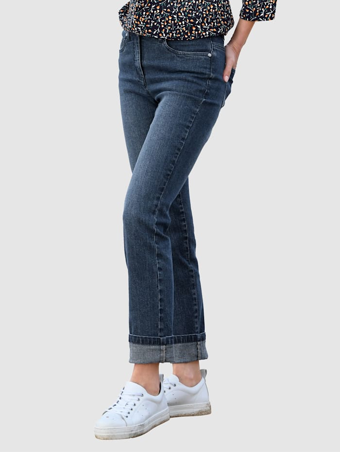 basically you Jeans i modell Paola slim, Dark blue