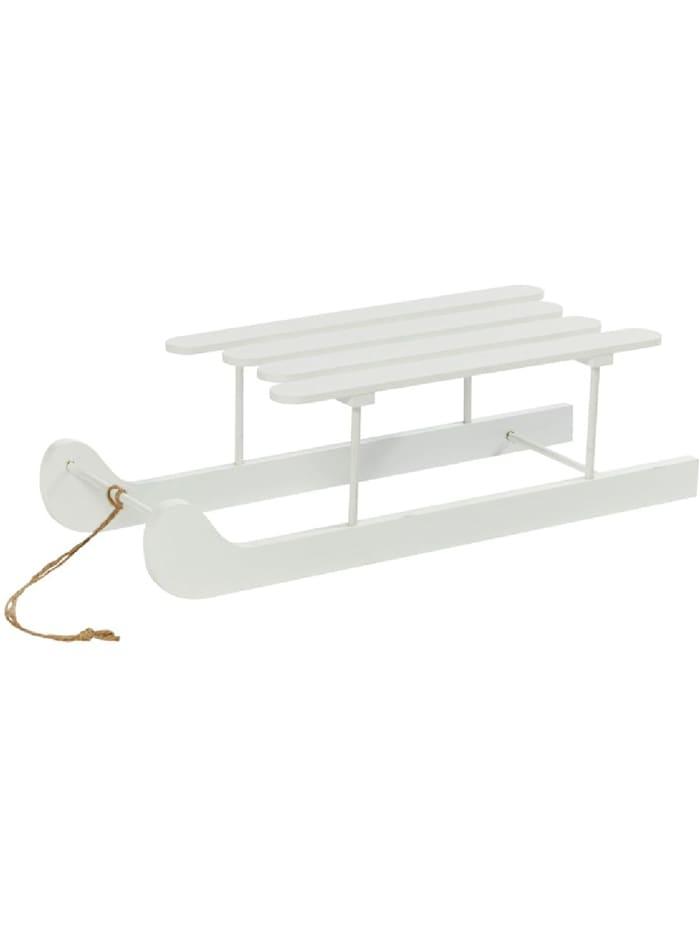 Living Deko-Objekt, Weiß