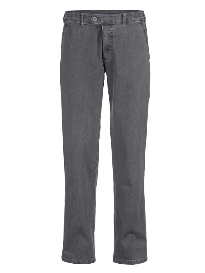 Brühl Jeans met elastische band, Grey