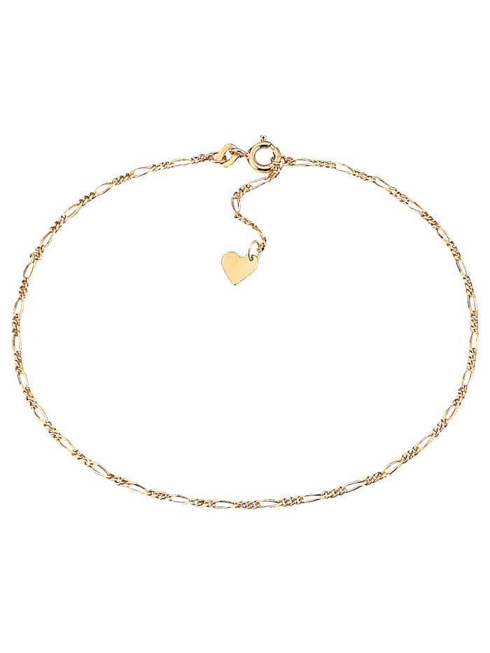 KLiNGEL Bracelet de cheville, Coloris or jaune