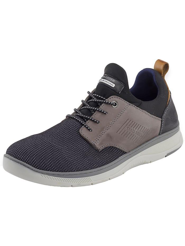 Salamander Porthos Sneakers Low, schwarz