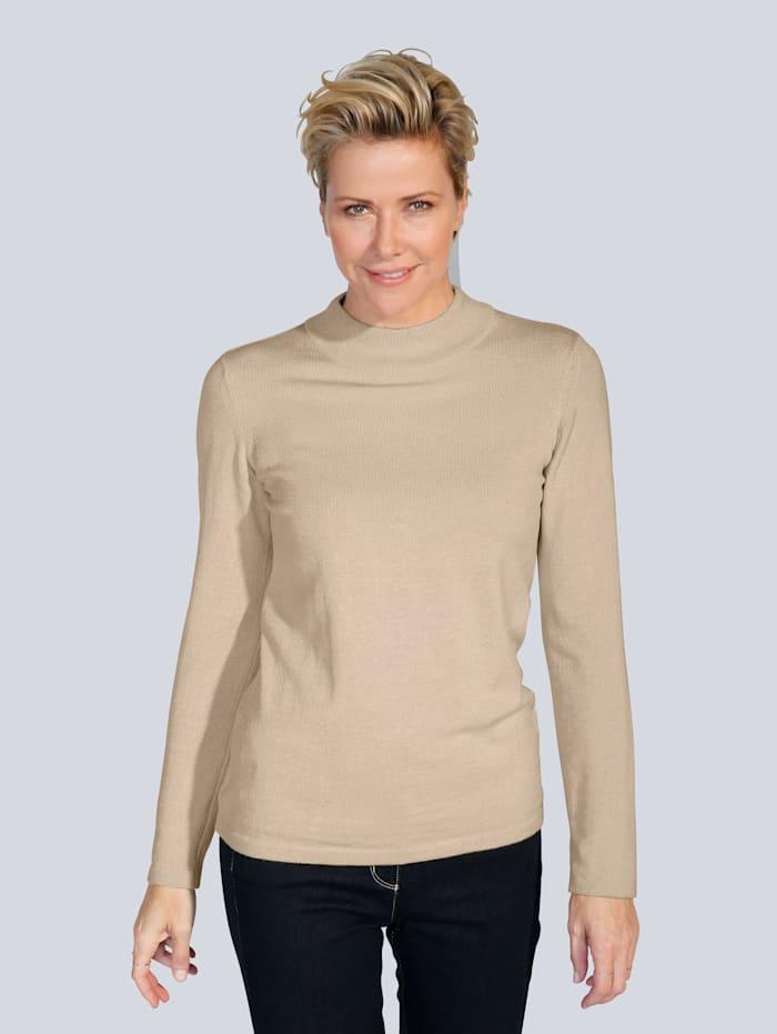 MONA Pullover in Traumhaft-Qualität, Sand