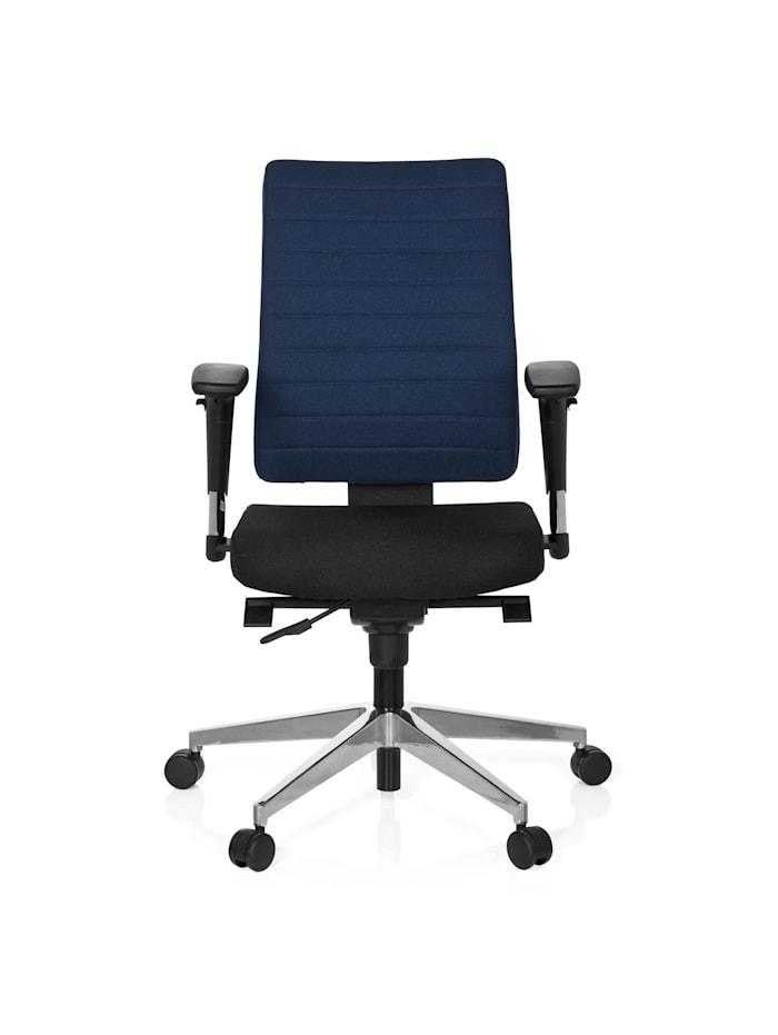 hjh OFFICE Profi Bürostuhl PRO-TEC 350, Schwarz / Blau