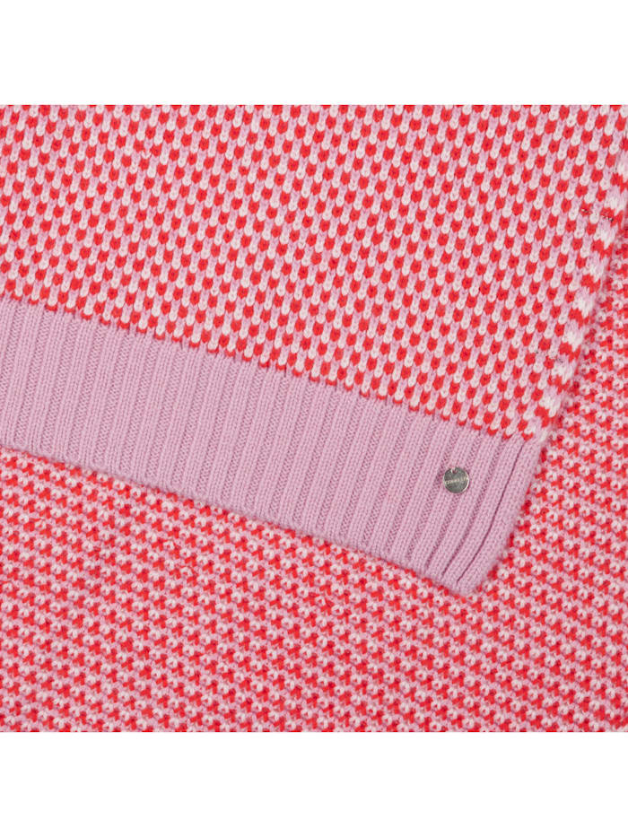 Strickschal in softem Wolle-Mix