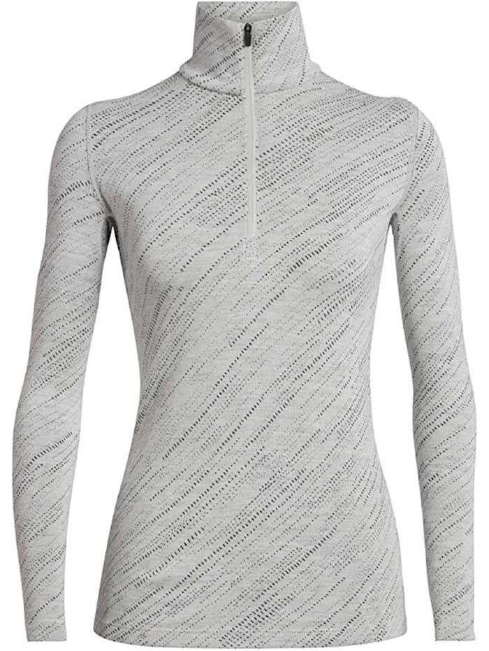 Icebreaker Shirt 250 Vertex LS Half Zip Snow