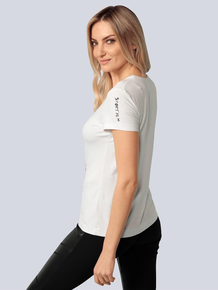 Shirt in Aquarelloptik