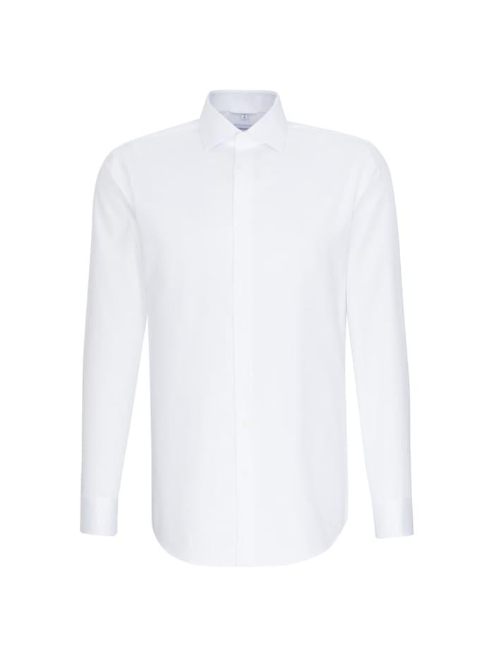 Seidensticker Business Hemd ' Regular ', weiß (0001)