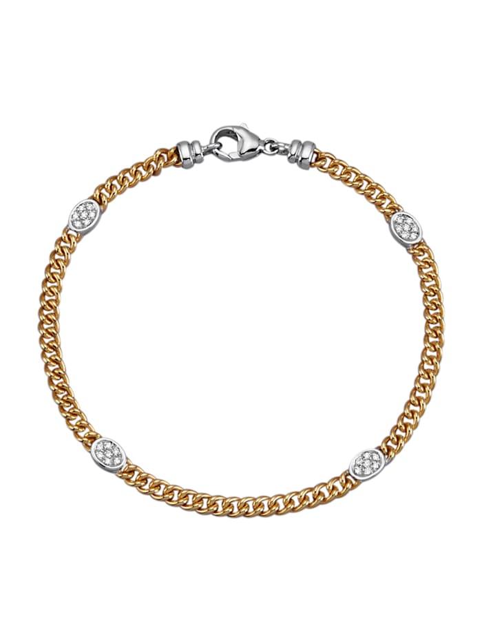 Diemer Diamant Armband mit Brillanten, Gelbgoldfarben