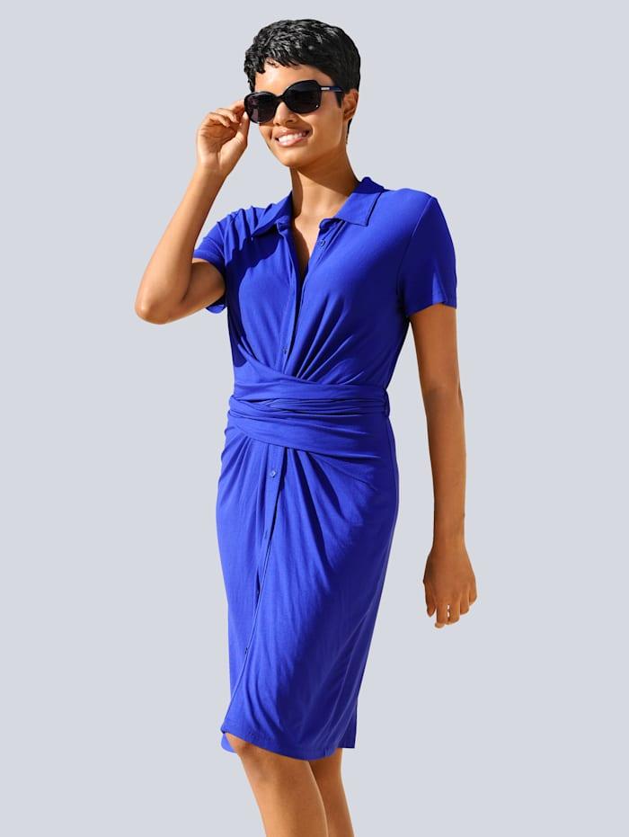 Alba Moda Strandkleid mit raffinierter Wickelung, Royal
