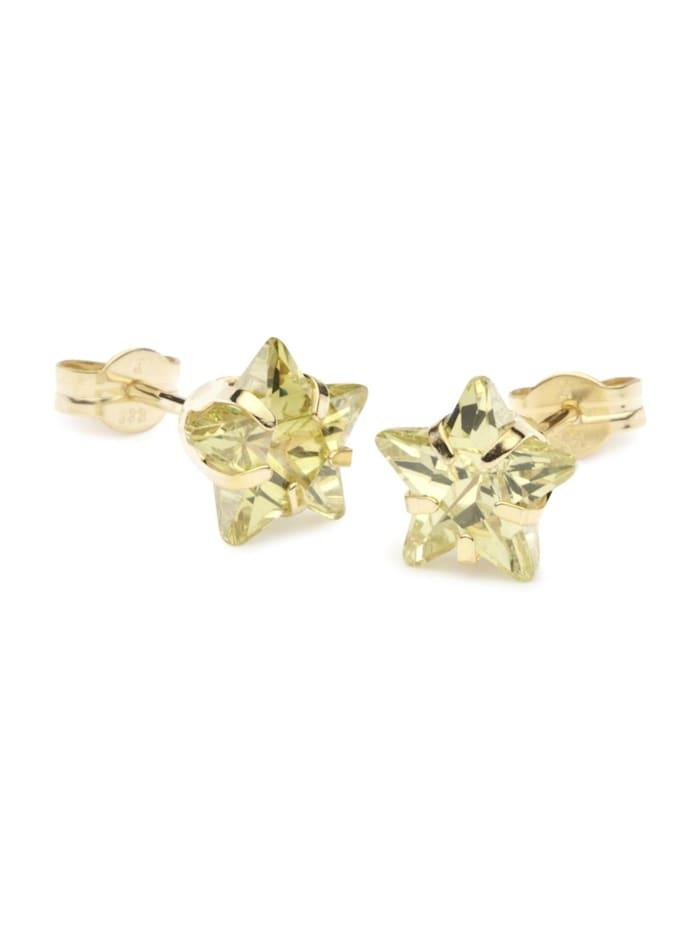 OSTSEE-SCHMUCK Ohrstecker - Milla - Gold 333/000 -, gold