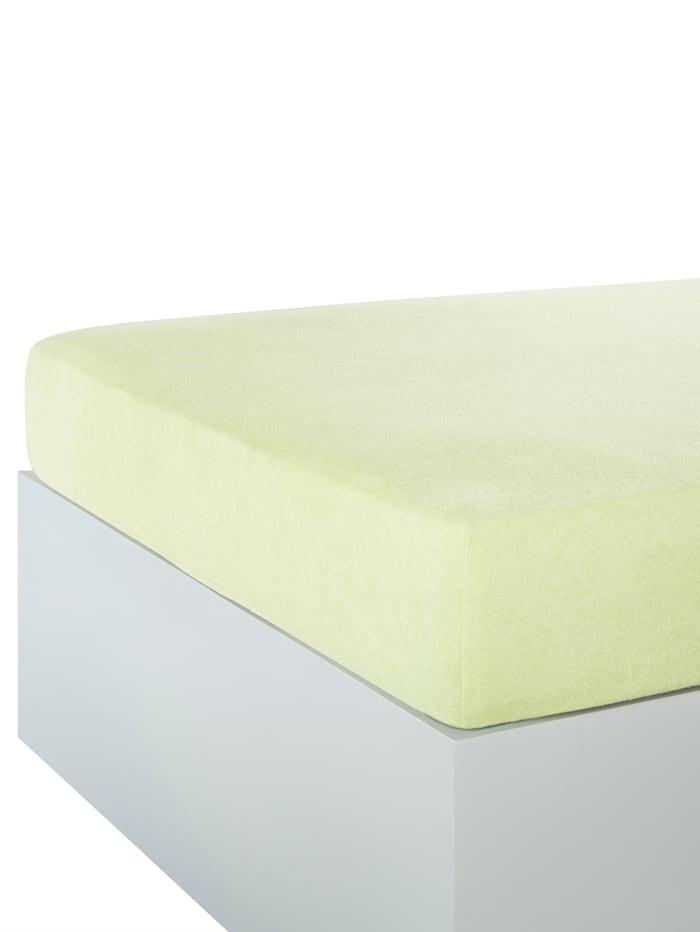 Webschatz Dra på-lakan, lindblomsgrön