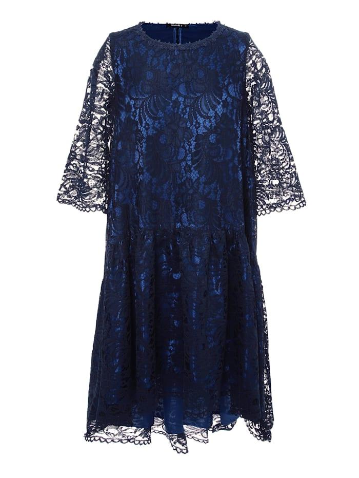 Madam-T Spitzenkleid Eva, blau